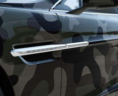 Luxurious Camouflage Cars