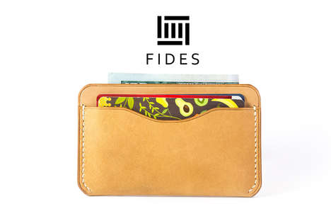 Artisan Leather Wallets - Fides on Kickstarter is Raising Funds for Handcrafted Accessories