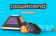 Active Gaming Wristbands - The PowaBand Encourages Kids to Earn Points from Real-Life Exercise