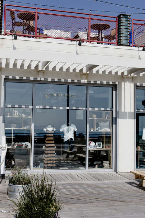 Summer-Only Retail Shops - United by Blue's Asbury Park Seasonal Store Sits on the Oceanfront