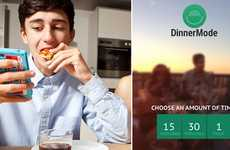 Offline-Encouraging Apps - The Dinner Mode App Gamifies Meal-Time in an 'Un-Techy' Way