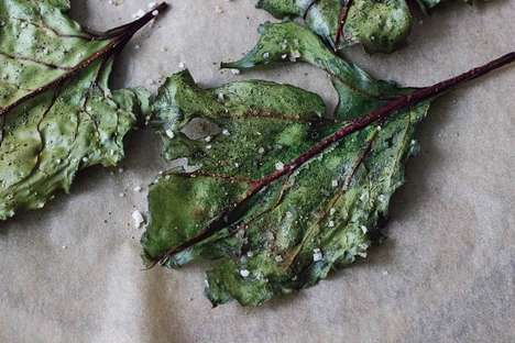 Leafy Green Chips - Eat Thrive Glow's Recipe for Homemade Chips is Made with Beet Leaves