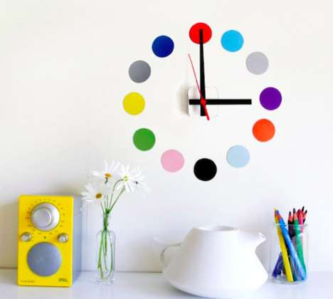 77 Artistic Wall Clock Designs - From Serene Honeycomb Timepieces to Abstract Analog Chronometers