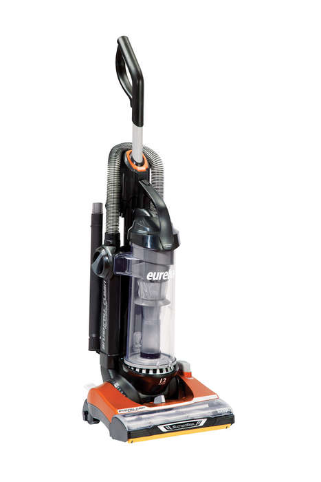 Self-Cleaning Vacuums - The New Brushroll Clean Eureka Vacuum Untangles Itself from Messes