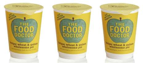 Portable Quinoa Cups - Enjoy a Superfood Meal on Go with The Food Doctor's New Quinoa Hot Pots