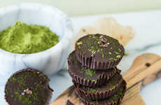 Chocolatey Matcha Desserts - These Chocolate Matcha Butter Cups are a Nut-Free Snack Alternative