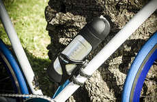 Effortless Bike Pumps - Never Struggle with a Flat Tire Again Thanks to the Handy Rideair Bike Pump