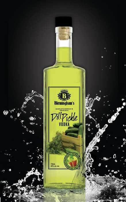 Dill Pickle Vodka - Birmingham's Dill Pickle Vodka is a Spirit Designated for Ceasars