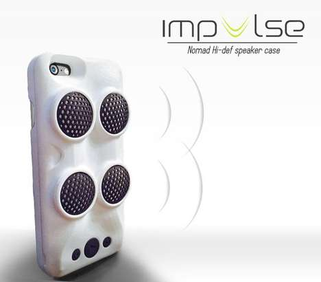 Smartphone Surround Sound - This Mobile Speaker Cover Lets You Up the Audio with No Dock Necessary