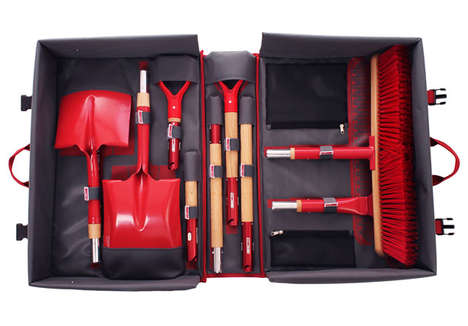 Compact Gardening Kits - This Extensive Shovel Set Completely Equips You for Serious Landscaping