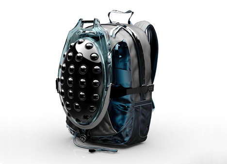 Tortoise Water Reservoirs - The Bionic Hydration Backpack Collects Moisture for Desert Drinking