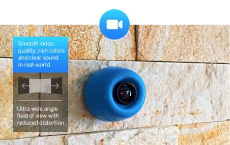 All-in-One Compact Cameras - The Joggy Security Cam Does More Than Meets the Eye