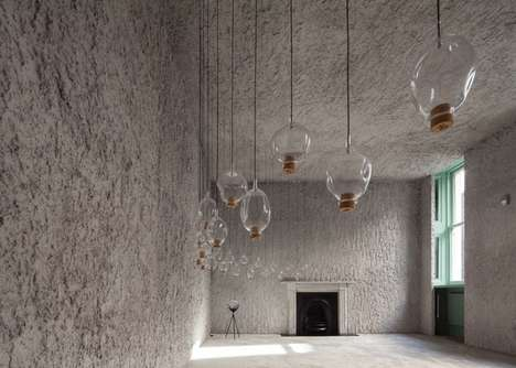 Textured Perfumery Interiors - This Fragrance Shop Interior Resembles a Minimalist Cave