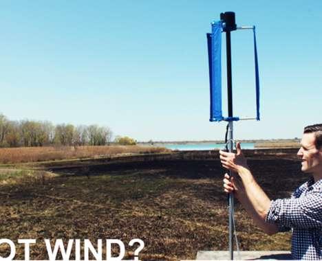3D-Printed Wind Turbines