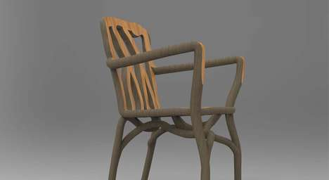 Botanically Manufactured Furniture - The Full Grown Furniture Farm Uses Eco-Friendly Methods