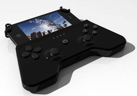 Flexible Phone Controllers - The I-KUE Portable Gaming Device Accommodates All Types of Handsets