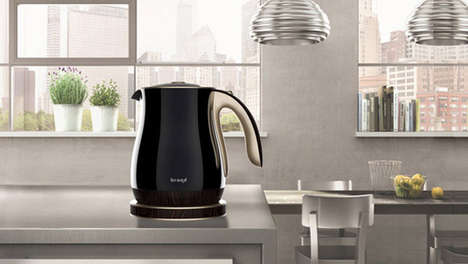 Aesthetically Enhanced Appliances - The 'Product Design' Kettle Has a Hotter Look for Higher Value