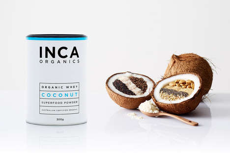 Mouthwatering Whey Marketing - Inca Organics Packaging Entices the Tastebuds with Flavorful Visuals