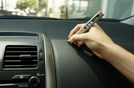 Multi-Surface Styluses - The Phree Digital Pen Lets You Make a Notepad or a Canvas of Anything