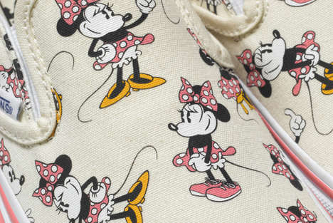 Iconic Cartoon Sneaker Lines - The Disney x Vans 'Young at Heart' Collection Features Mickey Mouse
