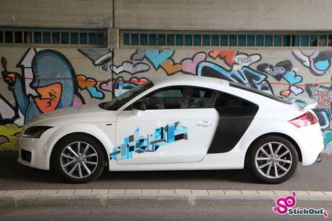 Customized Car Graphics - This Custom-Fit Artwork Adds Personality and Pizzazz to Any Vehicle