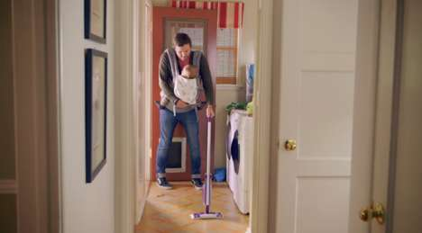 Manly Cleaning Campaigns - #SwifferDad Shows the Changing Relationship Between Men and Cleaning