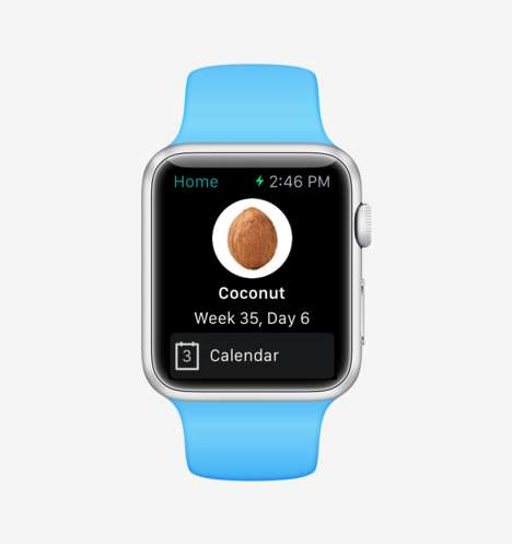 Pregnancy Countdown Apps - This Bump Watch App for the Apple Smartwatch Shows Pregnancy at a Glance