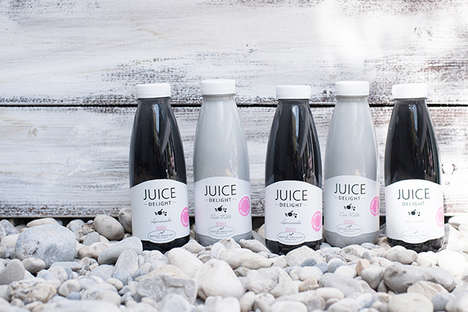 Raw Charcoal Juices - Detox Delight's Healthy Juice Range Offers Tasty and Nutritious Products