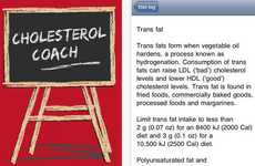 Educational Cholesterol Apps - Cholesterol Coach Tracks Health Levels and Monitors Diet Restrictions