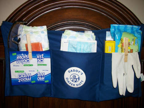 Fatherhood Survival Kits - This Diaper Duty Tool Belt Features All the Essentials for New Dads