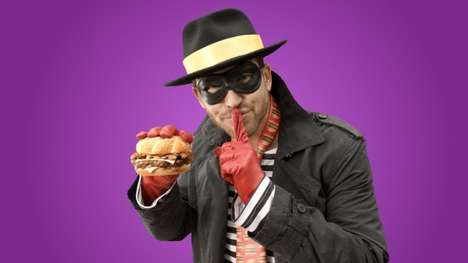Hipster Fast Food Mascots - McDonald's Rebrands The Hamburgler as a Suburban Hipster Dad