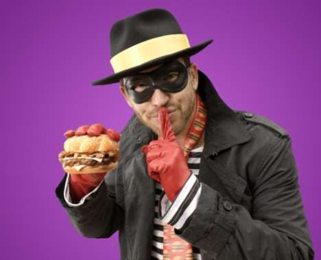 Hipster Fast Food Mascots