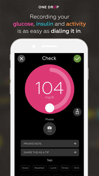 Social Diabetic Apps - The One Drop App Organizes Diabetes Management and Support