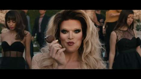 Beautiful Drag Queen Campaigns - Magnum's Be True to Your Pleasure Ad is Gorgeously Inspiring