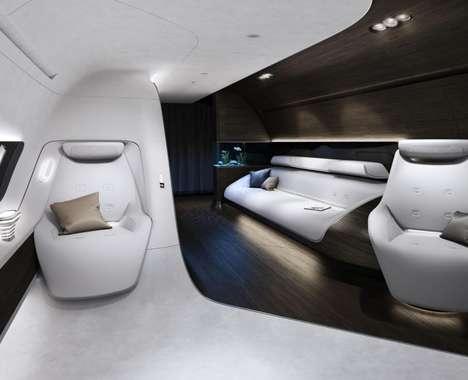 Futuristic Jet Cabins