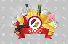 Healthy Training Games - The NoGo App Retrains Your Brain to Make Better Food & Lifestyle Choices