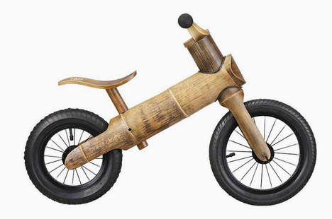 17 Eco-Friendly Wooden Bicycles - From Bamboo E-Bikes to All-Natural Baby Bikes