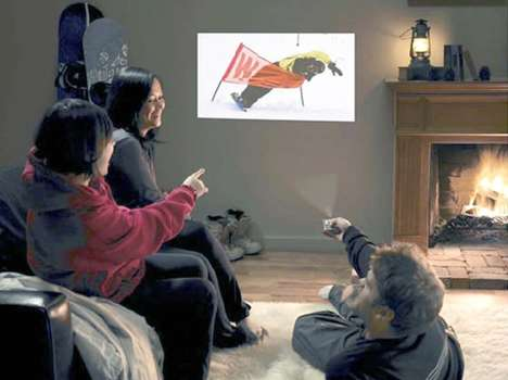 25 Examples of TV-Thwarting Devices - From Pop-Up Modern Projectors to Apple TV Concepts