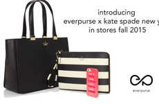 Phone-Charging Couture Bags - The Everpurse x Kate Spade New York Bag Fuses High Fashion and Tech