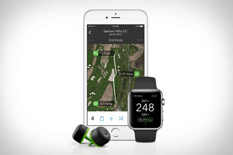 Intuitive Golfing Apps - The 'Arccos Golf Tracking System' Uses Digital Sensors to Improve Your Game