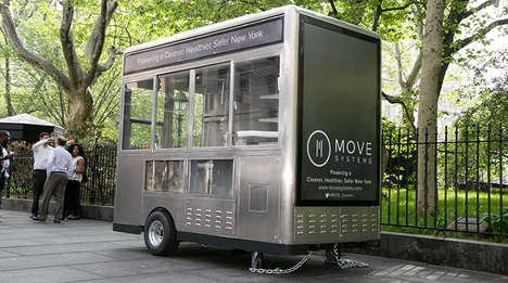 Solar-Powered Food Trucks - New York City Has Just Unveiled Its New Line of Sustainable Food Carts