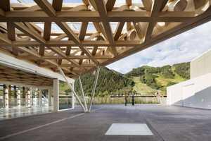The Aspen Art Museum Boasts a Stunning Timber Facade