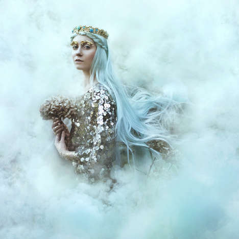Enchanting Floral Portraits - In Bloom by Bella Kotak is a Magical Series Straight Out of Fairytales