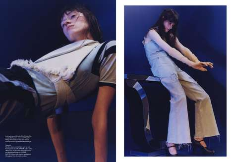 Sculptural Style Editorials - The SSAW Finland Physics 11,9 Photoshoot Displays Structural Images