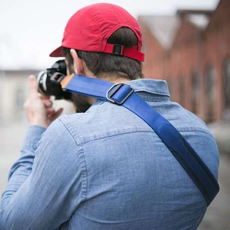 Crowdsourced Camera Straps - Peak Design's Slide Strap Attaches and Detaches for Quick Removal