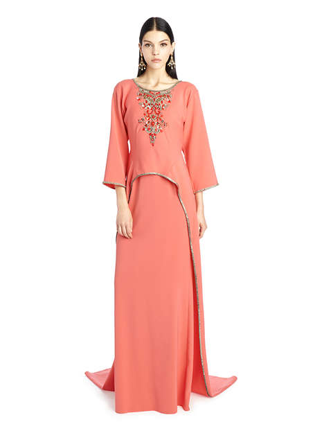 Couture Caftan Collections - The Oscar De La Renta Caftan Range Embodies Opulence