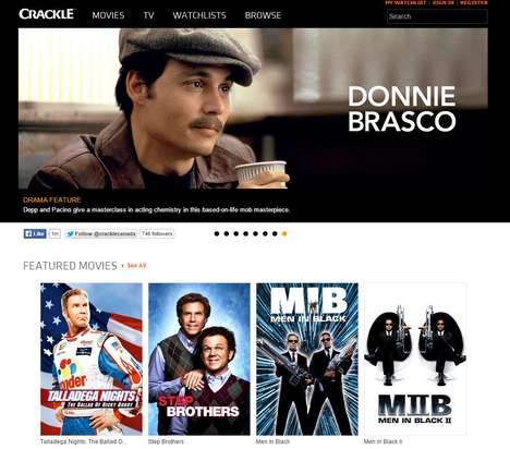 Chargeless Streaming Services - Crackle is an OTT Streaming Service with a Plentiful Media Library