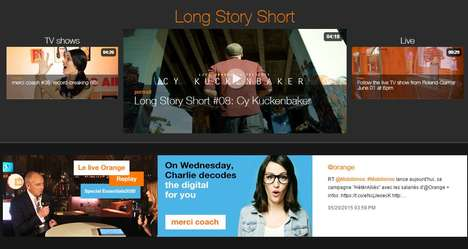 Customizable Streaming Devices - The Orange TV Stick Offers Personalized Viewing Capabilities