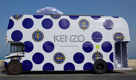 30 Temporary Retail Innovations - From Mobile Bus Boutiques to Shadowplay Pop-Up Shops