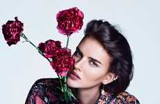 The Marie Claire France Gemmes En Fleurs Editorial is Horticultural